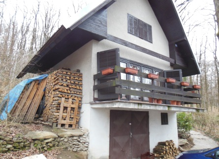 Celoročne obývateľná 4-izbová chata